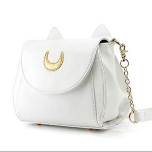 White Sailor Moon purse